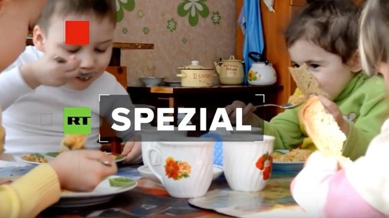 RT Deutsch Spezial: Leben im Krieg - Besuch in einer Schule im Kriegsgebiet Donbass