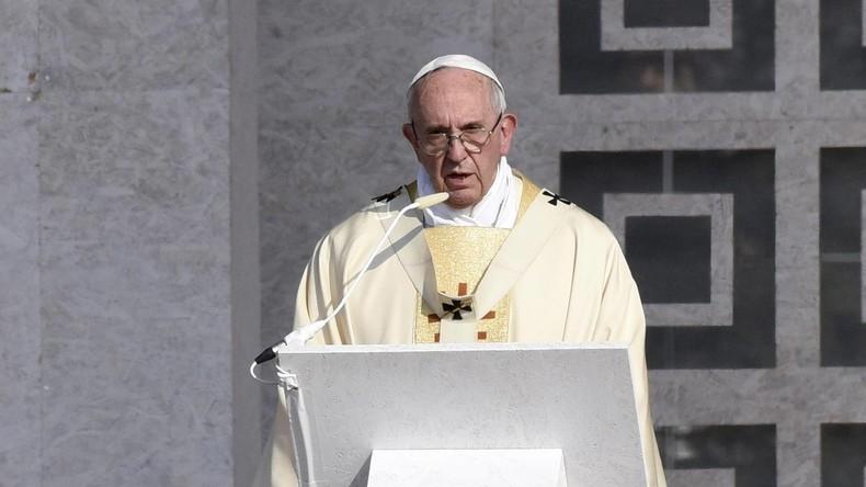 Papst Franziskus ruft zum Schutz von Zivilisten im Irak auf