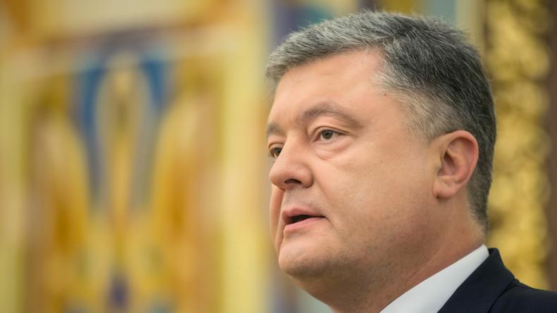 """Petro Poroschenko präsentiert """"effizienten Plan"""" für EU"""