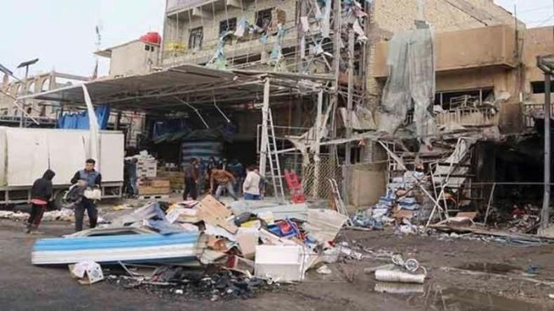 Mindestens 17 Tote bei Terroranschlag in Bagdad