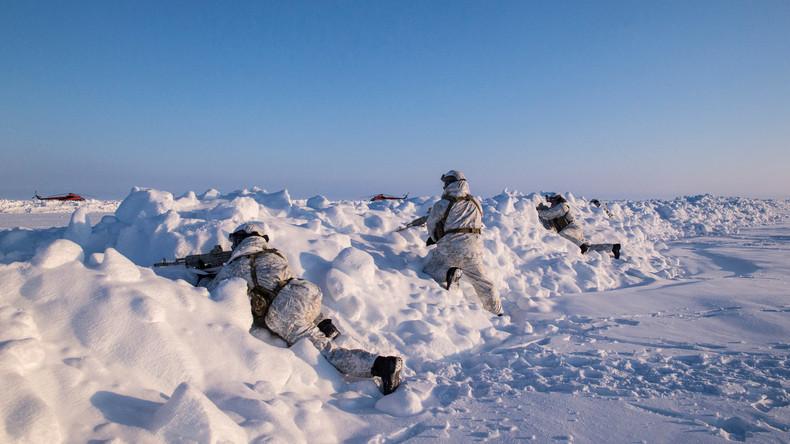 Blick gen Nordpol: Warum sich der Wettlauf der Supermächte in der Arktis zuspitzt