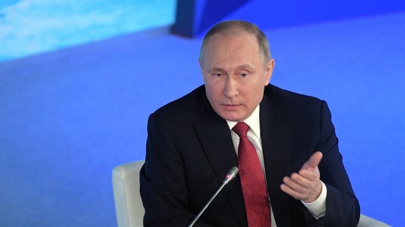 """Wladimir Putin: Angebliche """"Spionagetreffen"""" des russischen Botschafters in den USA sind Wahnsinn"""