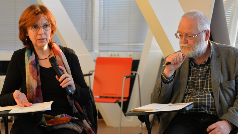 Moskau: Russen und Deutsche debattieren über Rechtspopulisten