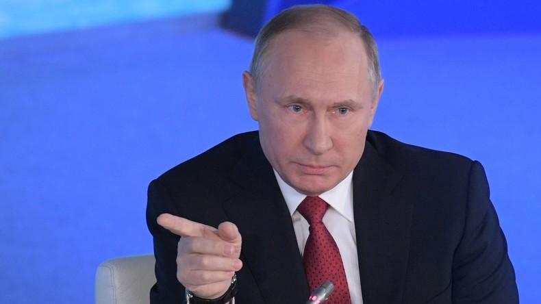 Wladimir Putin über Zusammenarbeit mit USA bei Cyber-Sicherheit: Washington hat es abgelehnt