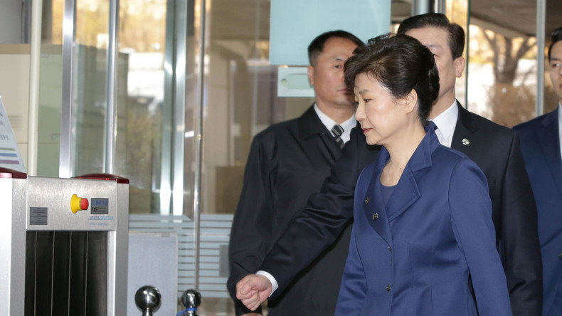 Südkoreanische Ex-Präsidentin Park Geun Hye verhaftet