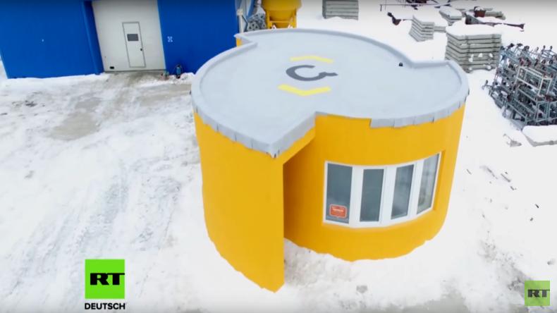 Häuser aus dem 3D-Drucker: Moskauer Start-Up leistet Pionierarbeit
