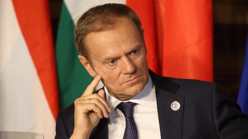 EU-Ratspräsident Tusk über Brexit: Das ist meine erste Scheidung