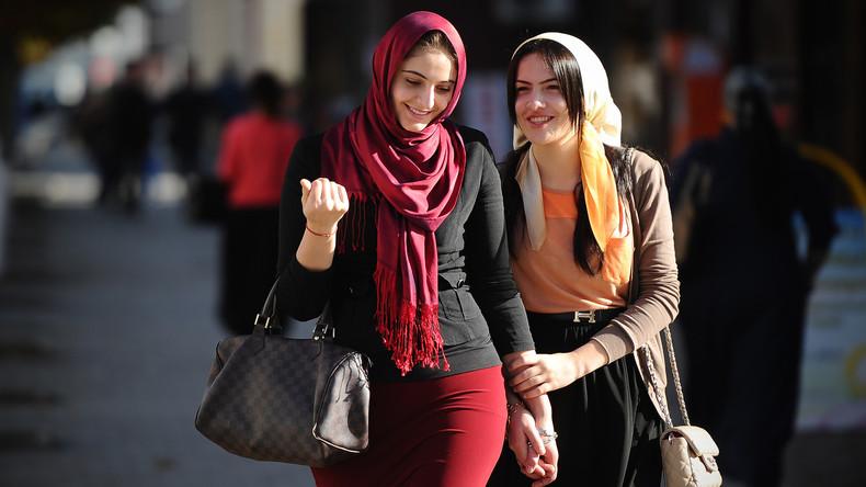 Tschetschenisches Parlament erlaubt Kopftücher in der Schule