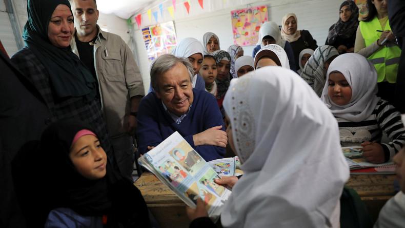 UN-Generalsekretär beharrt auf mehr Hilfsleistungen für Flüchtlinge aus Mossul
