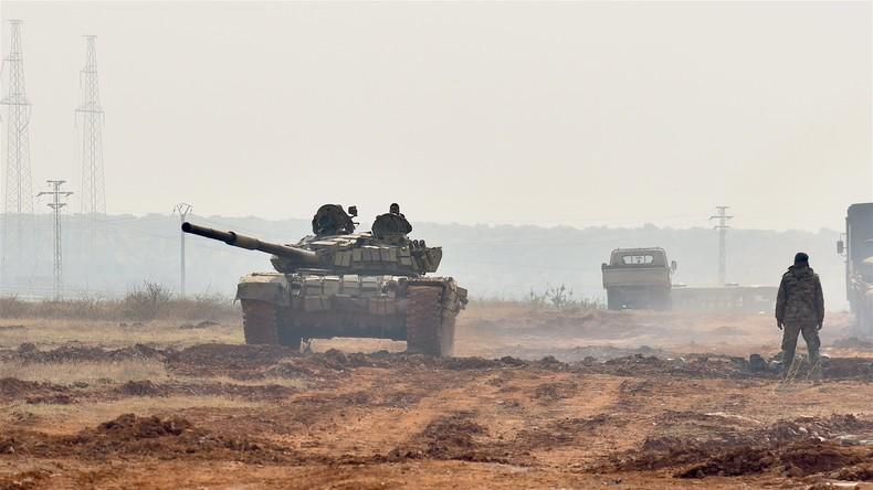 Syrische Soldaten befreien 16 Dörfer in syrischer Provinz Hama von Terroristen