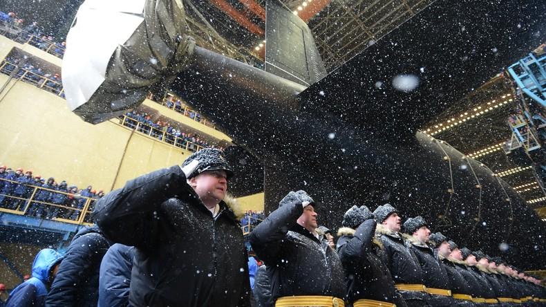 "Atom-U-Boot ""Kasan"" in Sewerodwinsk zu Wasser gelassen"