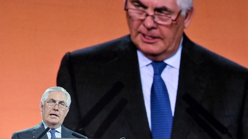 Nato-Treffen: Tillerson wettert gegen russische Aggression