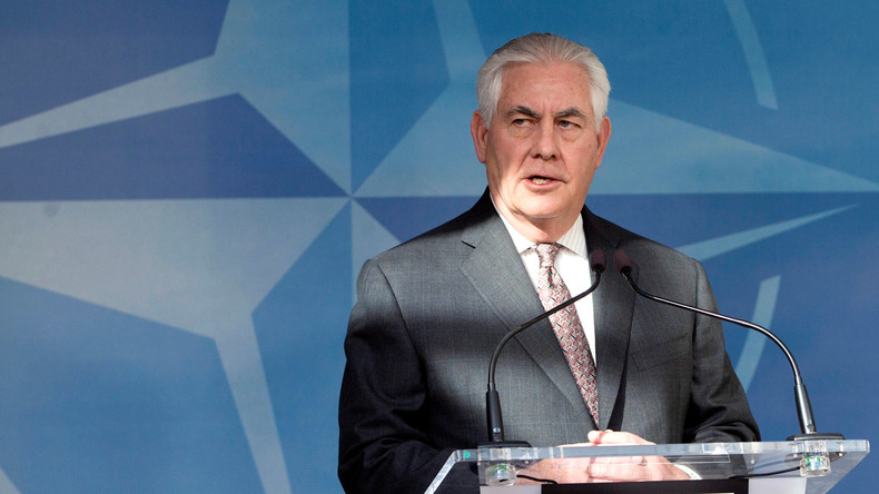Rex Tillerson: Russland-Sanktionen bleiben bis Rückgabe der Krim bestehen