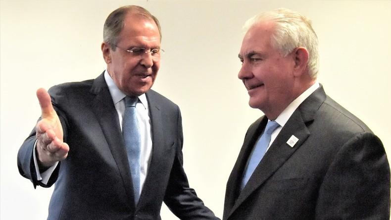"""Russisches Außenministerium: Tillersons Worte über """"russische Aggression"""" sind befremdlich"""