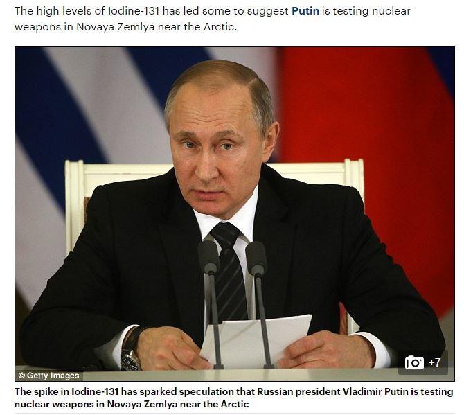 "Mysteriöse nukleare Strahlung über Europa: ""Geheimer russischer Atomtest"" war Störfall in Norwegen"