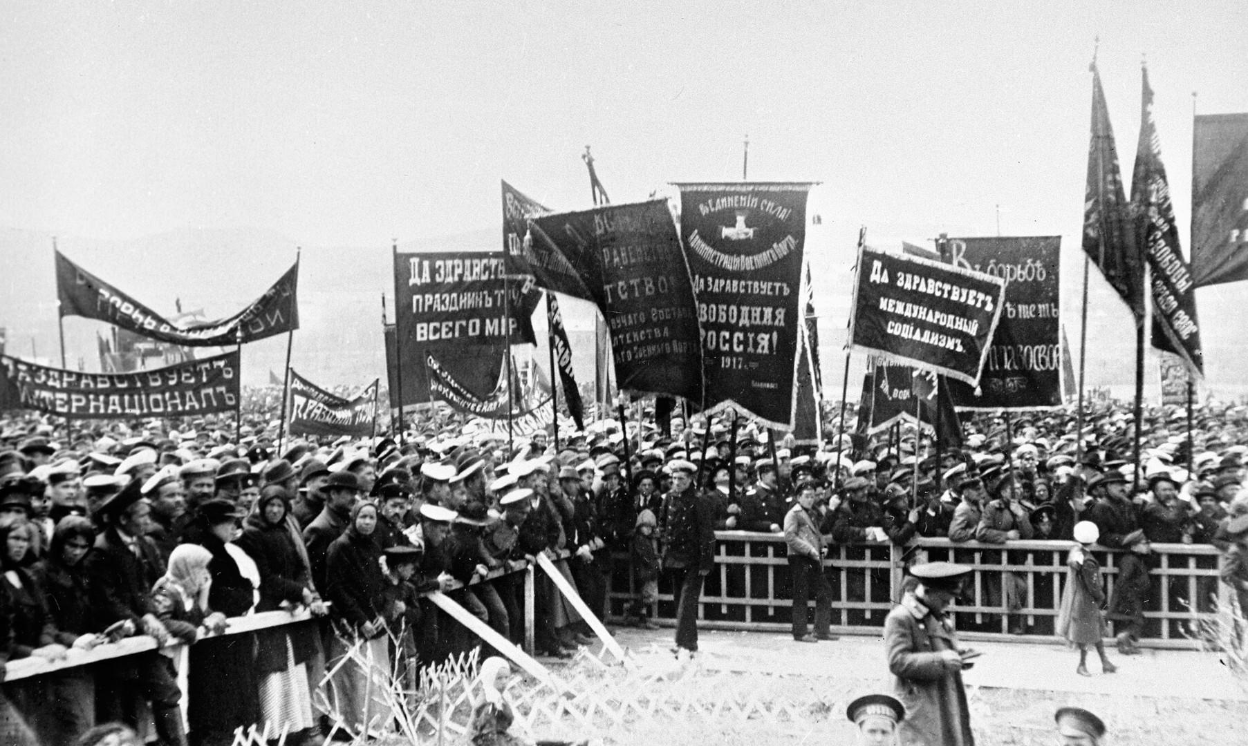 Russland 1917: Das Jahr, das die Welt auf den Kopf stellte