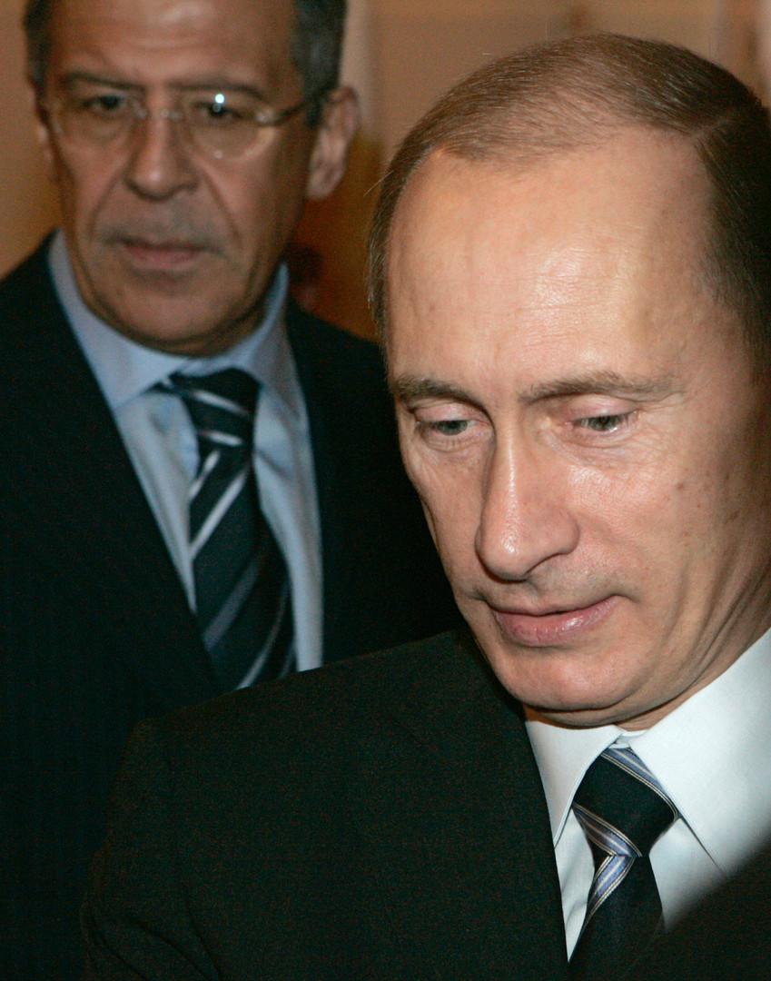 Lawrow ist seit über 13 Jahren der russische Außenminister.