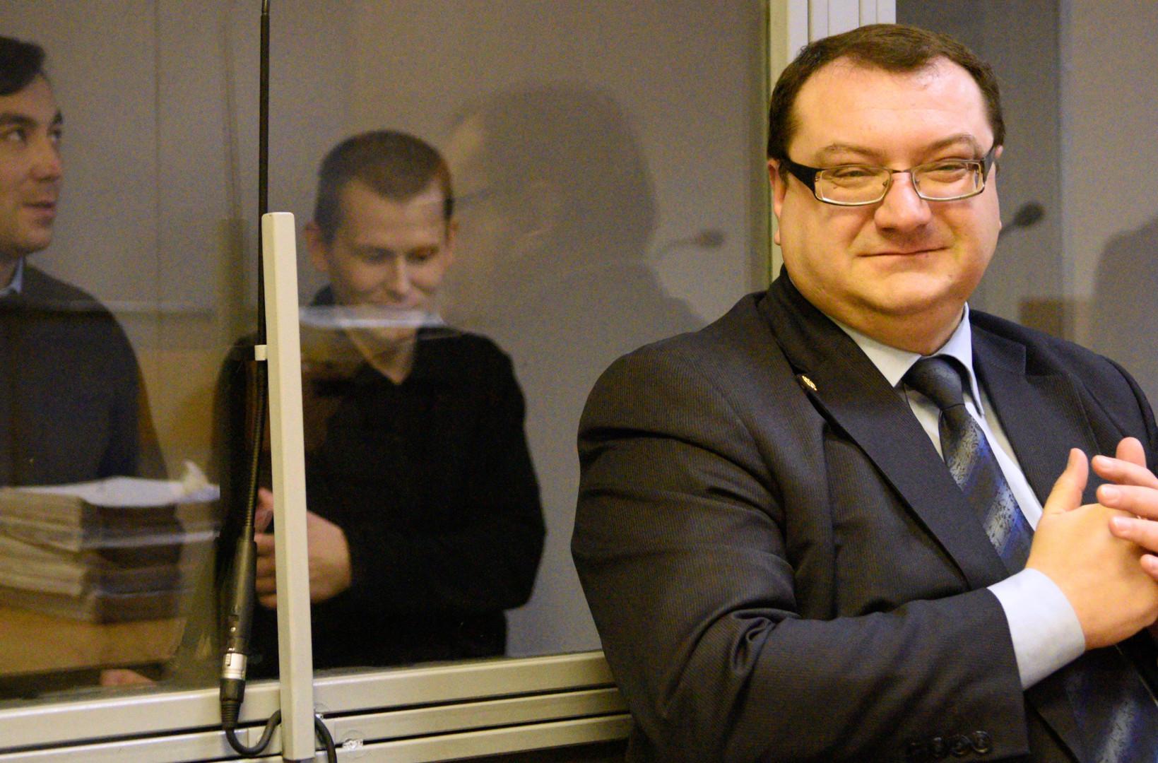 Jurij Grabowskij, Anwalt. Sein Leichnam wurde am 25. März 2016 verstümmelt aufgefunden.