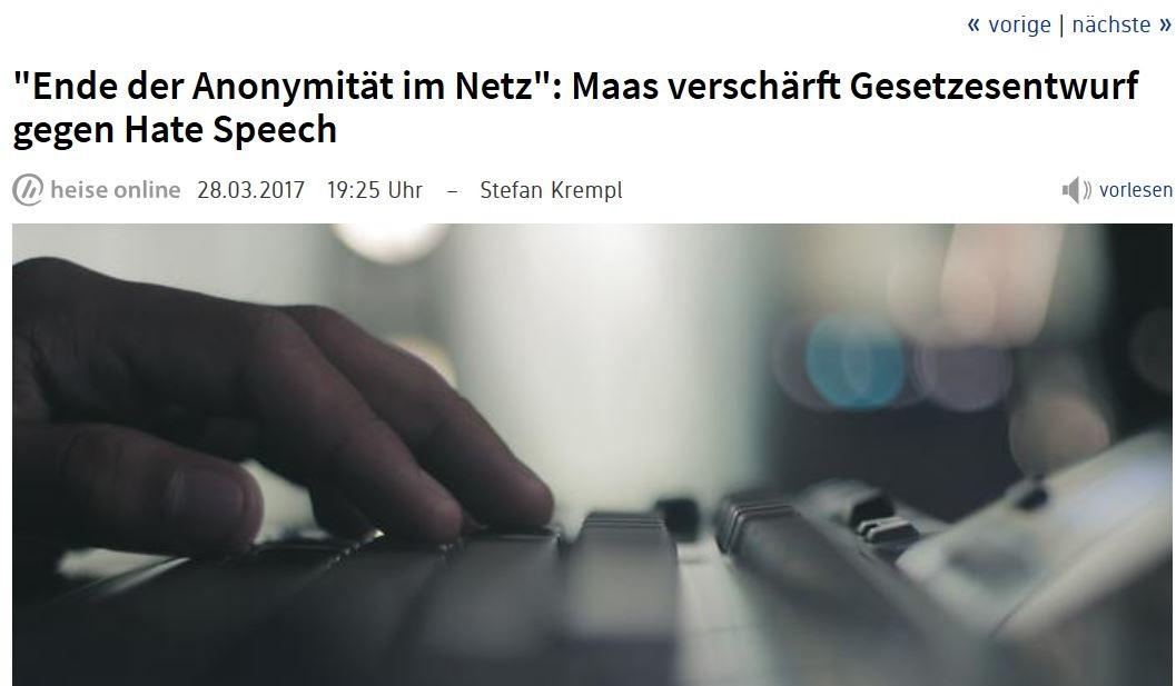 Maas schwingt die Zensurkeule: Gesetzesentwurf gegen Hate Speech erneut verschärft
