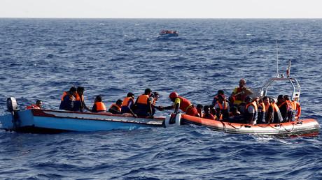 Libysche Flüchtlinge vor der Küste Spaniens. Die EU setzt auf Abschottung.