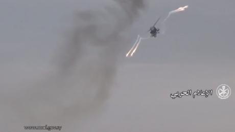 Russische Kampfhubschrauber im Einsatz gegen den IS in Palmyra