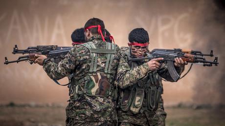 Schachmatt für die FSA und die Türkei: Ein weiterer Vormarsch der von Ankara geführten Operation Euphrat-Schild in Richtung Manbidsch wäre nur noch um den Preis einer Konfrontation mit Russland oder den USA möglich.