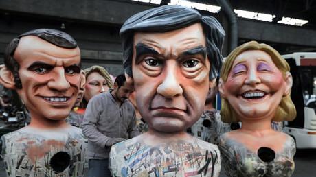 Emmanuel Macron, François Fillon oder Marine Le Pen - wer lacht als letztes?
