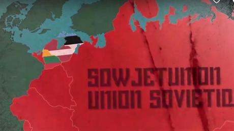 Riesig und schrecklich. Für jedes historische Ereignis in und um Russland hat der Westen immer nur eine Erklärung parat: Moskaus Imperium will sich einfach nur alles unter den Nagel reißen. Screenshot aus dem ARTE-Film