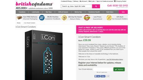 Kondom als Sex-Berater: High-Tech-Gummi soll Minuten und Kalorien zählen