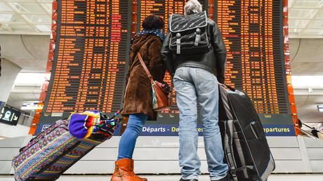 300 Flüge abgesagt wegen Streiks in französischen Flughäfen