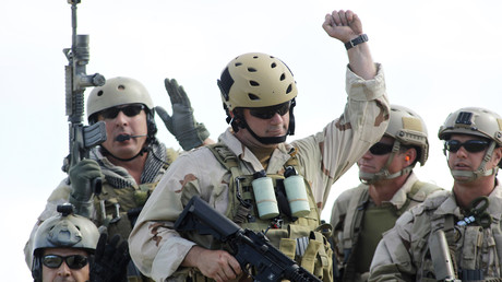 Symbolbild - U.S. Navy SEAL Team 18 nach erfolgreicher Übung in Fort Pierce, Florida.