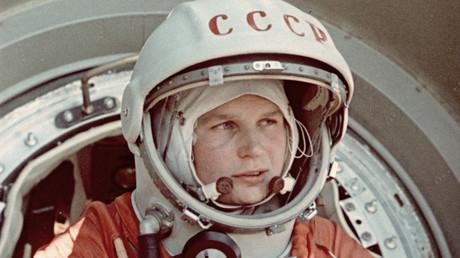 Walentina Tereschkowa, die erste Frau im Weltall
