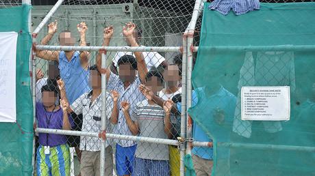 Abschiebeflüchtlinge auf der Insel Manus, Papua-Neuguinea; 21. März 2014.