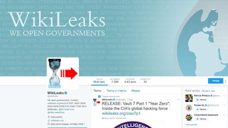 WikiLeaks veröffentlicht weniger als ein Prozent der CIA-Dateien