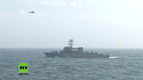 NATO-Übung Poseidon 2017 im Schwarzen Meer.