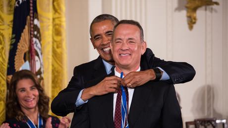 Tom Hanks wurde 2016 mit der Freiheitsmedaille des Präsidenten ausgezeichnet, einer der beiden höchsten zivilen US-Auszeichnungen