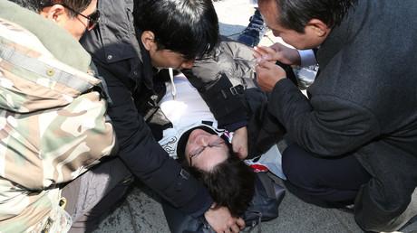 Drei Menschen sterben in Seoul bei Kundgebungen wegen Amtsenthebung von Präsidentin Park Geun-hye (Symbolbild)