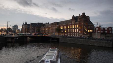 Der Hauptbahnhof in Amsterdam.