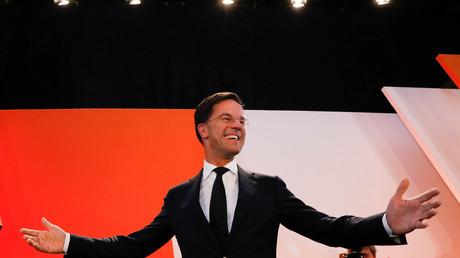 Hat Grund zur Freude: der alte und vermutlich neue Ministerpräsident Mark Rutte.