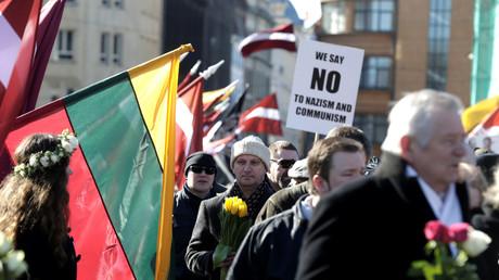 Waffen-SS-Parade in Riga: Lettische Polizei nimmt fünf Menschen fest