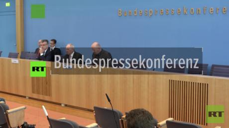 Bundesfinanzminister Wolfgang Schäuble äußert sich zum Haushaltsentwurf.