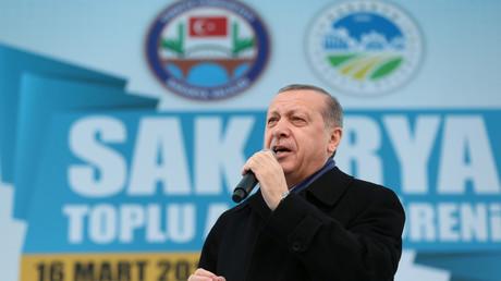 Der türkische Staatspräsident warf Deutschland vor, eine europaweite Kampagne gegen sein Land zu organisieren.