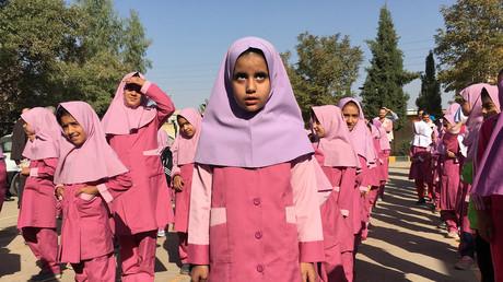 Afghanische und Iranische Schulkinder in Kerman; Iran, 23. Oktober 2016.