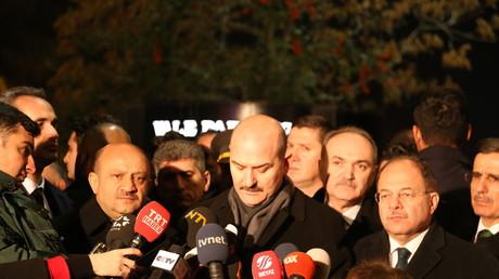 Archivfoto. Der türkische Innenminister bezichtigte Deutschland und die Niederlande, eine subversive Kampagne gegen sein Land zu steuern.