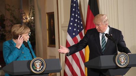 Merkel und Trump: Es ist immer besser, miteinander zu sprechen als übereinander