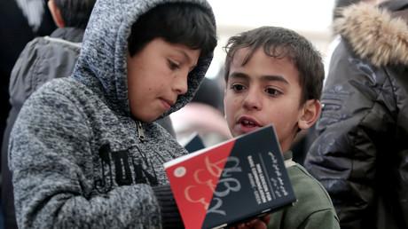 Menschenrechtler berichten von zunehmenden psychischen Störungen unter Flüchtlingskindern (Symbolbild)