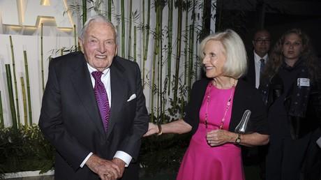 Milliardär David Rockefeller, 2015