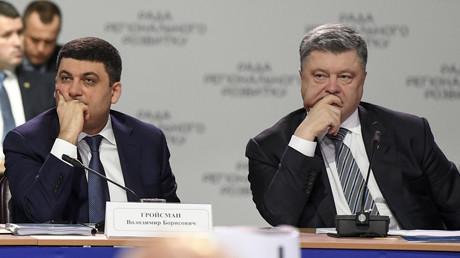 Petro Poroschenko räumt Kiews Totalverlust der Kontrolle über Donbass ein