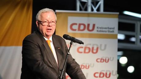 Auf der Suche nach Scorer-Punkten für den Wahlkampf: Michael Fuchs, stellvertretender Vorsitzender der CDU/CSU-Bundestagsfraktion.