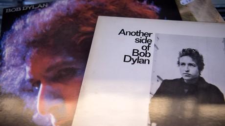 Schallplatten mit Bob Dylans